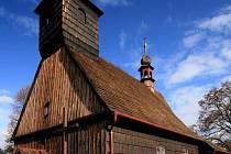 Kostel sv. Michaela Archanděla v Řepištích.