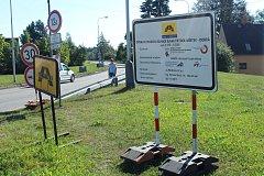 Silnice mezi Frýdkem a Dobrou je uzavřena.