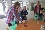 V sobotu 11. listopadu se v Knihovně Třinec konala akce Věda nás baví.