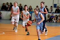 Basketbalový klub z Frýdku-Místku uskutečnil velký turnaj pro kategorii starších minižákyň.