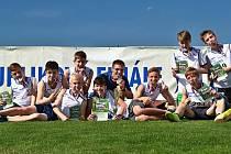 Mladí atleti z třinecké ZŠ Dany a Emila Zátopkových skončili v Jablonci na třetím místě.