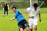 Lískovec si na domácím trávníku poradil díky dvěma gólům Mariána Kovaříka s Otrokovicemi 2:0.