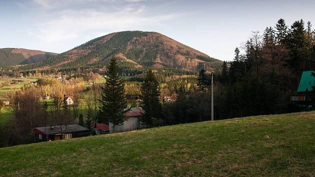Jaro v Beskydech. Kunčice pod Ondřejníkem. Ilustrační foto.