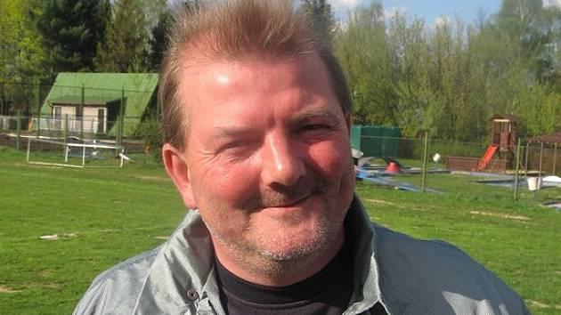 Předseda fotbalového klubu Finstal Lučina Miroslav Goroš.