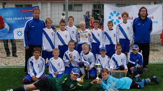 Vítězný tým Fotbalu Frýdek-Místek.