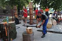 """Soutěž """"Slezský dřevorubec"""" patří mezi oblíbené akce, které se konají ve Vendryňském parku. Letos proběhne 27. července."""