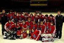 Vítězný tým - HC Frýdek-Místek.