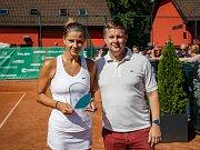 1. ročník tenisového turnaje žen ve Frýdku-Místku v areálu Prestige tenis.