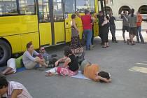 Evakuace z Gruzie byla dlouhá a únavná.