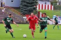 Fotbalisté druholigového Třince porazili v domácím prostředí tým Sokolova 1:0, když o jedinou branku utkání se postaral v 8. minutě Hanus.