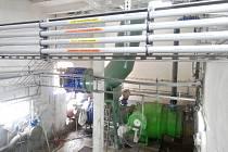 Úpravna vody v Nové Vsi u Frýdlantu nad Ostravicí.