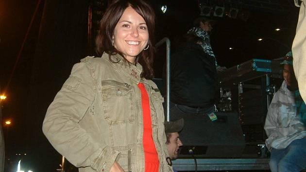Katarína Knechtová byla před třineckým koncertem Pehy ve výborné náladě.