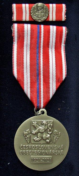 Medaile 100 let ČsOL.