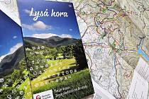 Nová mapa Lysé hory je k dostání v infocentrech v Beskydech.