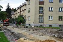 """Rekonstrukce """"malé"""" Jablunkovské je v plném proudu."""