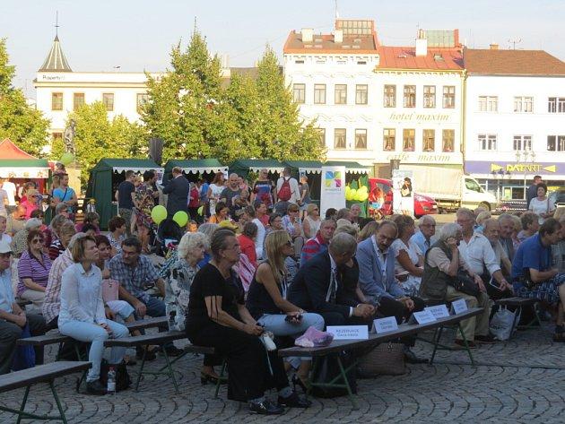 Festival partnerských měst ve Frýdku-Místku.