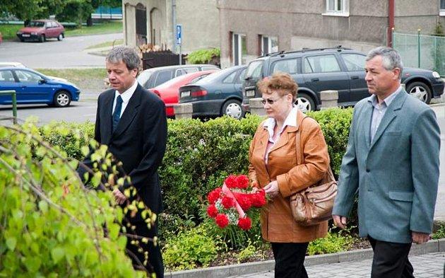 V Brušperku uctili památku padlých a umučených občanů města za II. světové války.