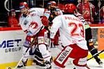 Třinečtí hokejisté proti Spartě.