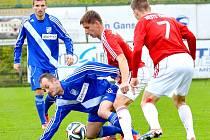 Derby zvládli lépe fotbalisté Třince, kteří svého okresního rivala z Frýdku-Místku pokořili na svém stadionu 3:1.