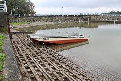 Přehrada Olešná je po dvou letech téměř plná vody.