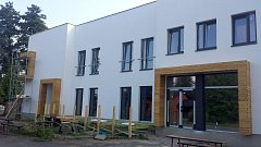 Budoucí sídlo radnice, knihovny, kulturních i sociálních služeb v Hnojníku.