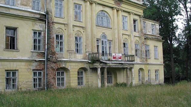 Hnojnický zámek.