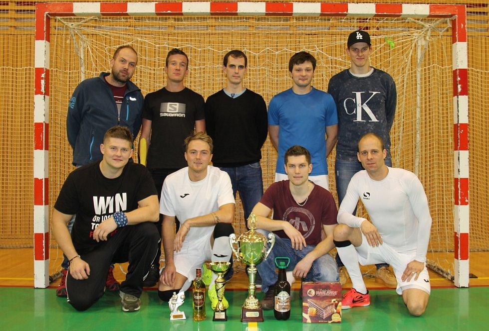 Vítězem 26. ročníku Frýdecko-místecké ligy v sálové kopané se stali hráči Nejlevnějších plotů.