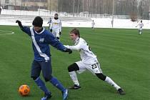 Fotbalisté Frýdku-Místku prohráli v přípravném střetnutí na domácím hřišti s posílenou juniorkou Sigmy Olomouc 0:4.