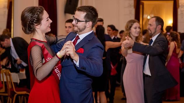 Ples Gymnázia Petra Bezruče, 31. ledna 2020 ve Frýdku-Místku.
