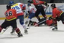 Hokejisté Frýdku-Místku ani ve druhém vzájemném měření sil nedokázali bodovat s nedalekým Novým Jičínem.