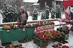 V Bašce proběhnul Vánoční jarmark s domácí zabíjačkou.