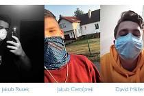 Fotbalisté MFK Frýdek-Místek apelují na občany ve městě - noste všichni roušky, šátky, prostě cokoliv, čím si přikryjete svá ústa a nos.