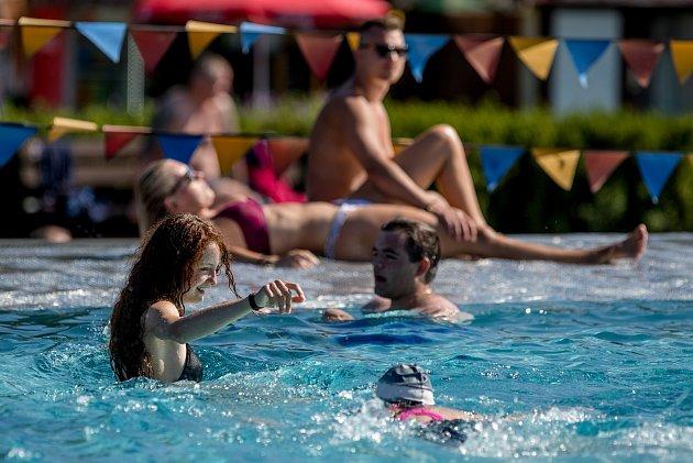 Letní aquapark Olešná, 30.července 2020ve Frýdku-Místku.