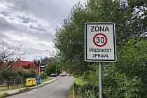 Zóna 30. Ilustrační foto