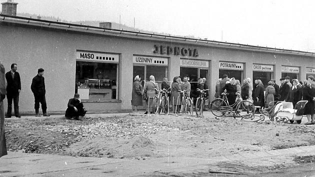 OTEVŘENÍ Jednoty v Pržně dne 6. března 1967.