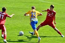 Třinečtí fotbalisté hráli s Opavou 1:1.