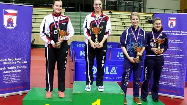 Frýdlantská stolní tenistka Dagmar Blašková zvítězila na MČR juniorek v Plzni finálový duel nad oddílovou kolegyni Karin Adámkovou a stala se tak mistryní republiky pro rok 2014.