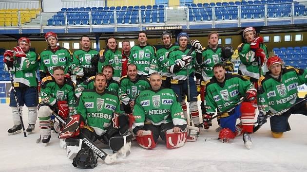 Hokejisté HC Nebory v letošní sezoně.