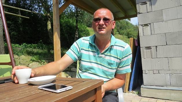 Současný starosta Hrčavy Petr Staňo.