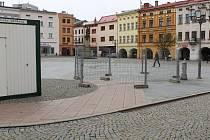 Začíná výstavba nové kašny na náměstí Svobody v Místku.