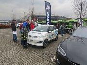 Den elektromobility v Třinci.