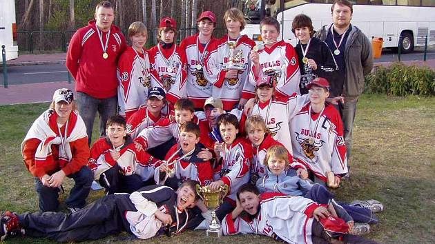 Hokejisté sedmé třídy HC Frýdek-Místek.