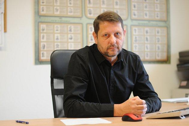 Starosta Žermanic Petr Peikl.