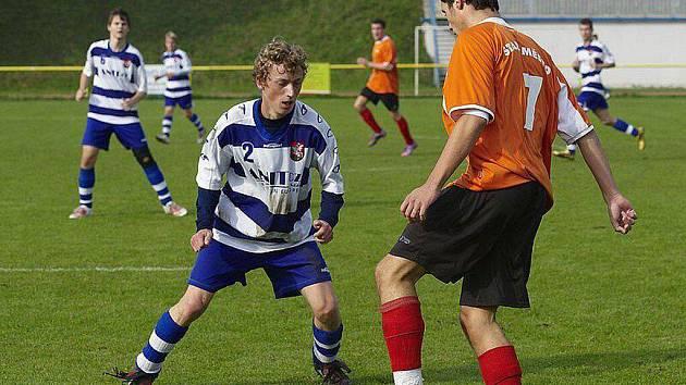 Mladí fotbalisté Brušperku zdolali v krajském přeboru dorostu na domácím hřišti nováčka ze Starého Města 2:1.