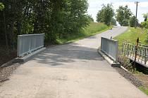 Nový most v Dobraticích.