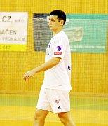 V poháru chyběl domácím kanonýr Vojtěch Petrovský, který si doléčuje zranění z reprezentačního srazu.  Ilustrační foto.