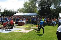 V Nové Vsi se v sobotu konal 40. ročník hasičské soutěže O pohár Lysé hory.