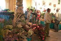 Návštěvníci obdivovali pestrost výstavy.