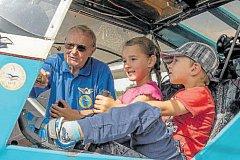 Děti letecká technika zaujala a hlavně i poučila.