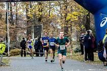 Nejrychlejším frýdecko-místeckým závodníkem byl Marek Causidis (v zeleném), který doběhl na pěkném osmém místě.